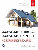 img - for AUTOCAD 2008 and AUTOCAD LT 2008 No Experience Required book / textbook / text book