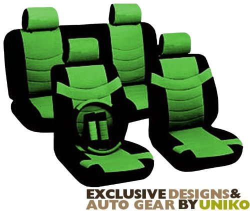 Interior Car Accessories Two Tone PU Synthetic Leather