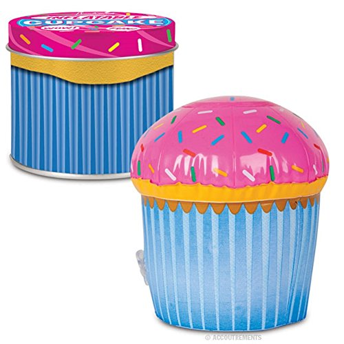 Giant Inflatable Pink & Blue Cupcake front-913644