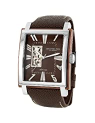 Stuhrling Original Men's 267.3375K59 Metropol Automatic Brown Watch