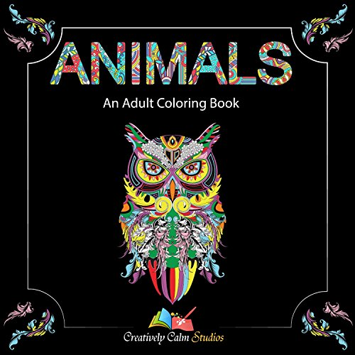 Creatively-Calm-Studios-Adult-Coloring-Books-Set-3-Books-120-Unique-Animal-Scenery-Mandala-Designs-BONUS-Weekly-Designs-For-One-Full-Year
