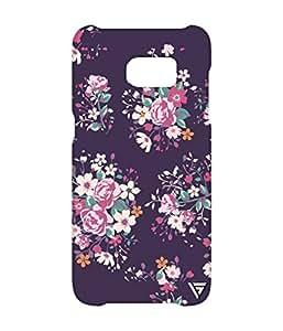 Vogueshell Flower Pattern Printed Symmetry PRO Series Hard Back Case for Samsung s7 Edge