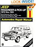 Jeep Wagoneer and Pickup, 1972-1991