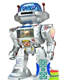 I-Robot RC Remote Controlled Robot Toy Robot Shoots Frisbees, Dances, Talks, Walks, with Sounds and Lights by Easy Shoponline