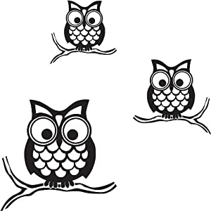 Wallpops Self Adhesive Wall Sticker Kit, Give a Hoot