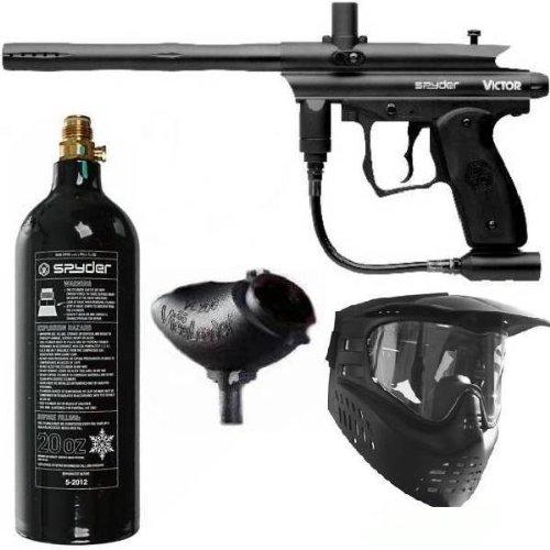Spyder Victor Paintball Gun Marker Package - Black