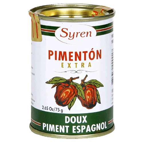Buy Syren Sweet Spanish Paprika, 2.65-Ounce Tins (Pack of 12) (Syren, Health & Personal Care, Products, Food & Snacks, Seasonings Herbs & Spices, Paprika)