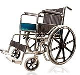 JSB W03 Folding Imported Magwheel Wheelchair (Silver-Black)