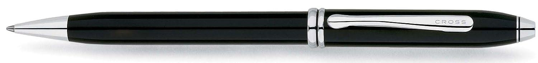 CROSS タウンゼント AT0042-4 ブラックラッカー ロジウムプレート ボールペン