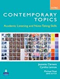 img - for Contemporary Topics Intro: Academic Listening and Note-Taking Skills book / textbook / text book
