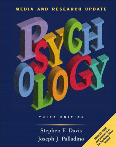 Psychology-Media and Research Update (3rd Edition), Davis, Stephen; Palladino, Joseph; Davis, Stephen F.; Palladino, Joseph J.