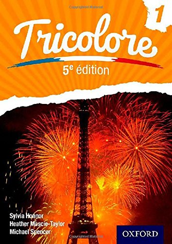 Tricolore 5th Edition Evaluation Pack: Tricolore fifth edition Student Book 1