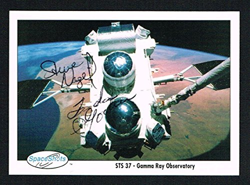 linda-godwin-steven-nagel-signed-autograph-auto-space-shots-trading-card-nasa