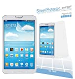 amFilm Samsung Galaxy Tab 3 8.0 Screen Protector Premium HD Clear (2 Pack) [Lifetime Warranty]