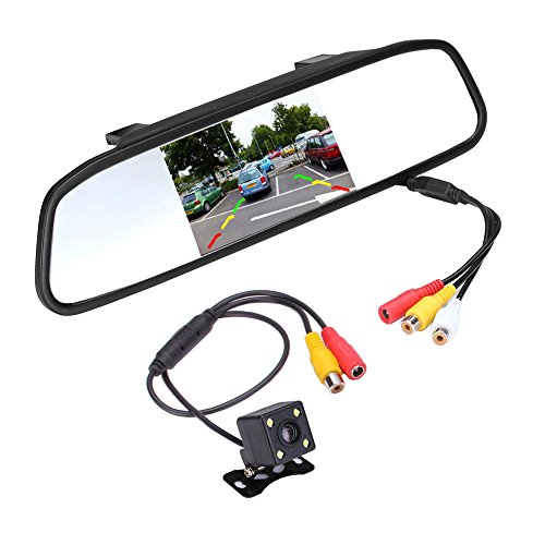 Podofo® Super Mini Backup Camera & 4.3