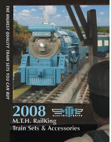 MTH 2008 Ready To Run Sets & Accessories Catalog - 1