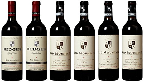"Hedges Family Estate ""3 Year Vertical Of Hedges Limiteds 2007 - 2009"" Mixed Pack, 6 X 750 Ml"