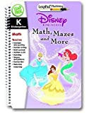 LeapFrog LeapPad Book: Disney Princess Math, Mazes and More