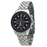 Seiko Chronograph Men's Quartz Watch SNDF09 from Seiko