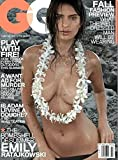 GQ Magazine (July, 2014) Emily Ratajkowski Cover