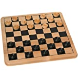 Cardinal Wood Checkers & Tic Tac Toe
