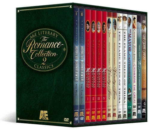 A&E Literary Classics - The Romance Collection 2 Megaset (Horatio Hornblower / Nicholas Nickleby / Vanity Fair / The Flame Trees of Thika / The Mayor of Casterbridge / Tess of the D'Urbervilles / The Great Gatsby)