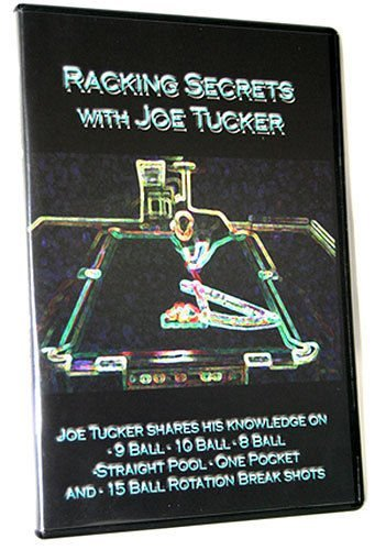 Racking Secrets With Joe Tucker -- 9 Ball -- 10 Ball -- 8 Ball -- Straight Pool -- One Pocket -- 15 Ball -- 2 DVD Set (Racking Secrets compare prices)