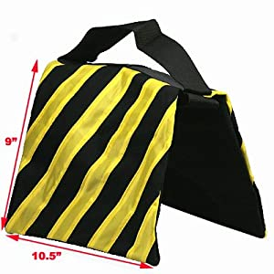 ePhoto YELSANDBAG Heavy Duty Light Stand Sand Bag Holds Up To 18 Pounds