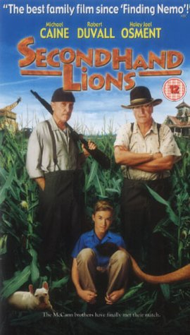 secondhand-lions-2003-vhs