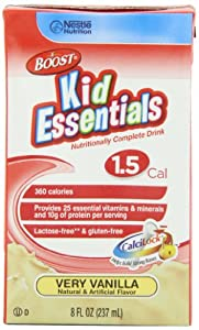 Boost Kid Essentials 1.5 Cal, Vanilla, 8-Ounce Boxes (Pack of 27)