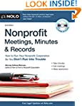 Nonprofit Meetings, Minutes & Records...