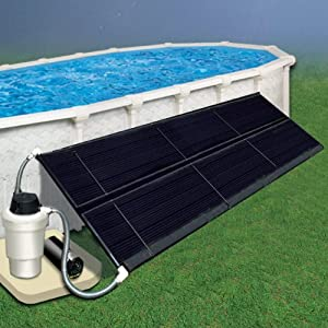 Above Ground Solar Heating Systems - 2 x 20 Solar Heating 1 Collector, All Hardware from Doheny's