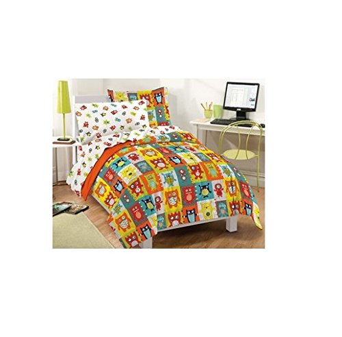 Silly Monsters 7-Piece Bed In A Bag With Sheet Set-Full front-357805
