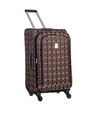 Jenni Chan Links 360 Quattro 21″ Luggage, Brown