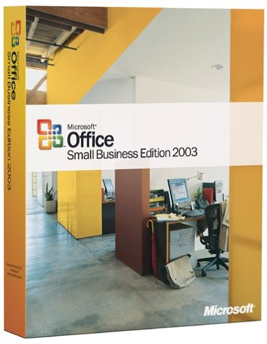 Office Small Business Edition 2003 (Excel, Outlook, Word, Powerpoint, Publisher)