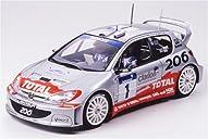 1/24 スポーツカーシリーズ プジョー206 WRC 2002