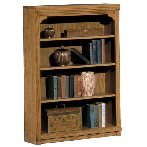 "Riverside Furniture 1532 Riverside Classics 48"" H Bookcase in Casual Light Oak"