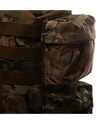 Magideal Tactical MOLLE Shoulder Bag Outdoor Sports Backpack Messenger Bag Green