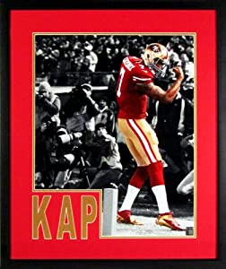 SF 49ers Colin Kaepernick Kaepernicking Spotlight 16x20 Photograph (SGA Impact... by Sports Gallery Authenticated