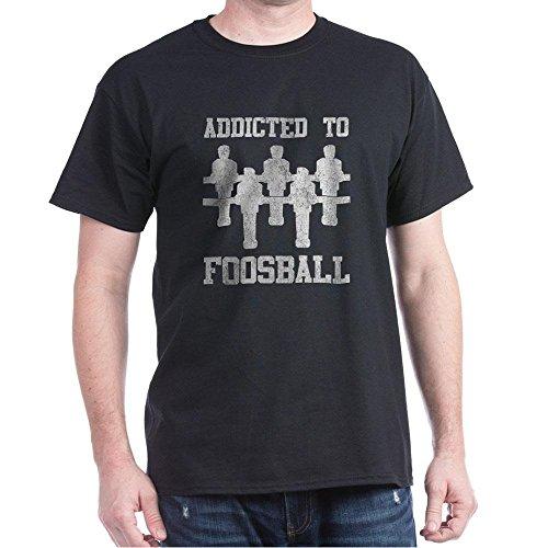 CafePress-Addicted-To-Foosball-Dark-T-Shirt