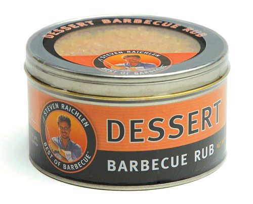 Steven Raichlen SR8085 9-Ounces Barbecue Rub, Dessert