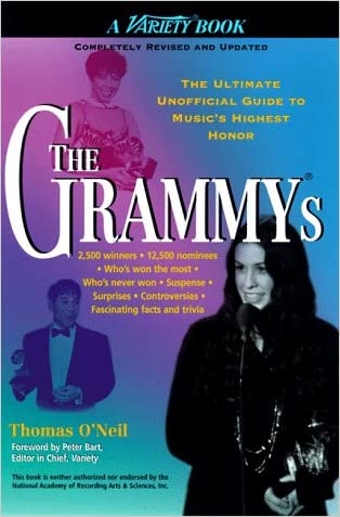 The Grammys written by Thomas O%27Neil
