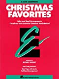 img - for Essential Elements Christmas Favorites: Eb Alto Saxophone book / textbook / text book