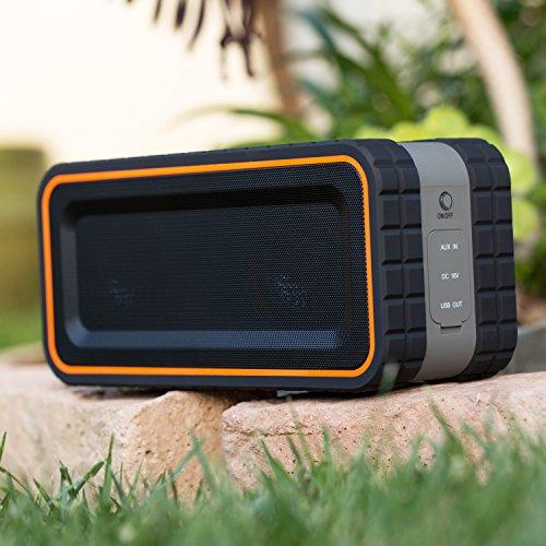Turcom Bluetooth AcoustoShock 30 watt Rugged Water-Resistant Speaker