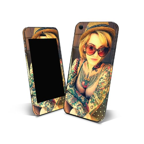 Skin Sticker 3m Cover Phone Ntt01 Sexy Tattoo for Samsung Galaxy Ace Plus S7500 Protection Skin (Samsung Ace Plus Cover compare prices)