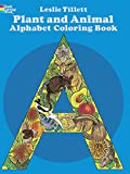 Plant and Animal Alphabet Coloring Book (Dover Coloring Books)