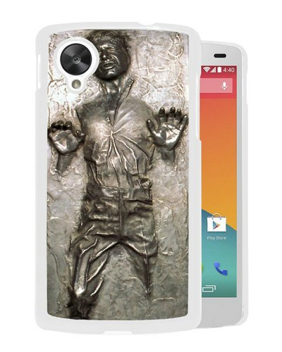 Google Nexus 5 case,Custom Han Solo Frozen In Carbonite White Google Nexus 5 cover