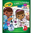 Crayola Disney Doc McStuffins Colour and Sticker Book