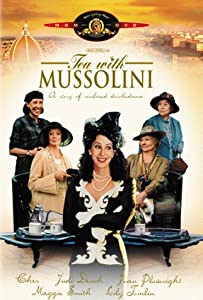 "Cover of ""Tea With Mussolini"""