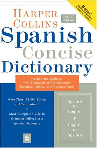 Collins Spanish Concise Dictionary, 3e (HarperCollins...
